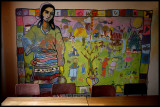 Paul Gent's mural