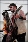 Evil Scarecrow Glastonbudget 2010