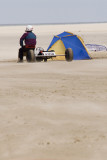 Kite buggying at Les Hemmes, France - May 2009