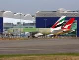 Airbus A380's (EK-#017/F-WWSN)