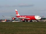 A340   9M-XAB