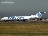 Pan Am Boeing 727-200 at LHR.