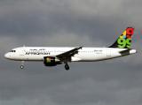 A320  5A-ONB