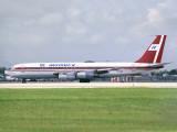 B707-350  YN-CDE