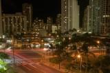 Waikiki during the night