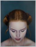 2010 BP Portrait Awards portrait  'iDeath' (220 x 170cm oil on canvas)