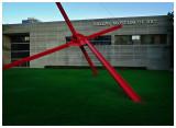 Backyard of Dallas Museum of Art