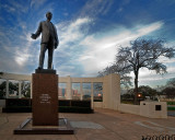 Dealey statue