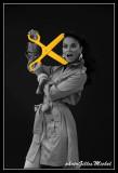 The yellow scissors