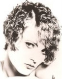 The Clara Bow haircut with perm and hand dryed 1968