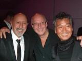 John Santilli and Trevor Sorbie and Fumio Kawashima