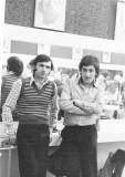 Aldo Pompeo and Carlos Gallego (Madrid Spain) at the DAVIES MEWS SCHOOL