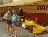Anni and Kathy in Hockenheim Germany_approx 1976-1977.