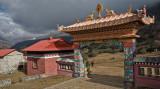 Tengboche Monastery entrance
