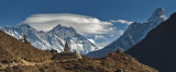 A Himalayan Vista.