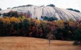 Stone Mountain NC. in the fall.