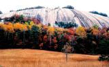Stone Mountain  in the fall.
