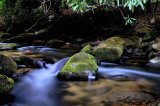 East Prong of Roaring Rive At Stone Mt State Park NC.