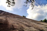 North side of Stone Mountain, no trails to is part of the Mt.