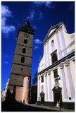 Black Tower and St. Nicholas Church