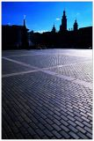 Cobbled Stoned Town Square