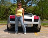 Lamborghini Girl - Bayard Cutting Arboretum