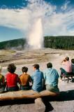 Old Faithful - Yellowstone NP, WY - 1968
