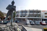 Teatro Virgínia (Arq. Fernando Schiappa de Campos) e Monumento ao Bombeiro