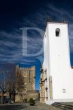 A Torre de Menagem e a Igreja de Santa Maria