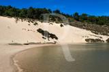 A Praia Fluvial e a Grande Duna de Salir