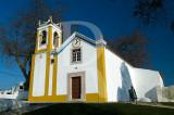 Pórtico da igreja de São Miguel de Alcaínça (Imóvel de Interesse Público)