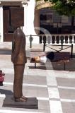 """Hommage a Pessoa"" de Jean-Michel Folon (2001/2008)"