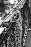 Transito Rodoviário no Tabuleiro da Ponte Luís I