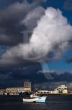 Porto de Peniche em 27 de janeiro de 2011
