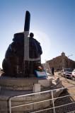 Peniche em 10 de fevereiro de 2005 - Monumento ao Homem do Mar
