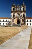 O Mosteiro de Alcobaça em 26 de Fevereiro de 2007