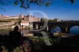 Ponte Medieval sobre o Rio Cávado