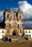 O Mosteiro de Alcobaça em 21 de Setembro de 2006