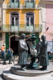 Grupo de Mulheres no Chafariz por Óscar Guimarães