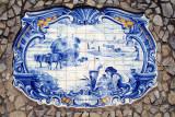 Azulejos de A-dos-Francos  Debulha do Trigo
