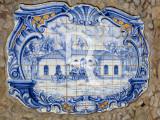 Azulejos de A-dos-Francos  Estação de Muda da Mala-Posta dos Carreiros 1856