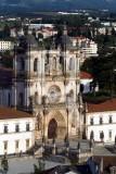 O Mosteiro de Alcobaça em 12 de Maio de 2008
