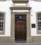 Main door to Karl Marx' birthplace.jpg
