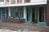 Vuurwerkbom vernielt Portaal VHL Flat Vianen