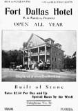 1907 - ad for the Fort Dallas Hotel in Miami