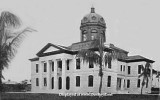 1907 - the Dade County Courthouse on 12th Street (later Flagler Street) in downtown Miami
