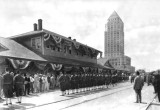 1930's - the Shriners at the Florida East Coast Railway station in downtown Miami