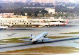 1983 - National Commuter Nord-262, Pan Am DC-10, Air Canada B727 and TWA B707 at Miami International Airport