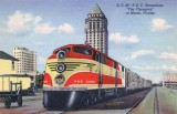 1940 - the Florida East Coast Railway's Champion at the downtown Miami railroad station