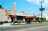 1950's - the Seahorse Lounge and Edith & Fritz Restaurant at 3236 N. Miami Avenue, Miami
